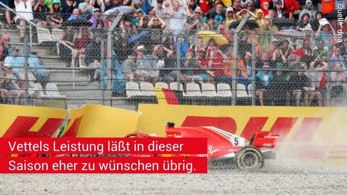 News video: Irres Gerücht in der Formel 1: Wird Vettel während der Saison von einem deutschen Fahrer bei Ferrari ersetzt?