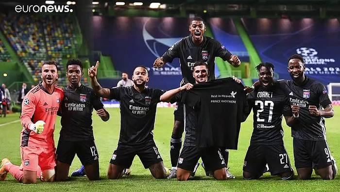 News video: Überraschung: Lyon wirft Manchester aus dem CL-Halbfinale