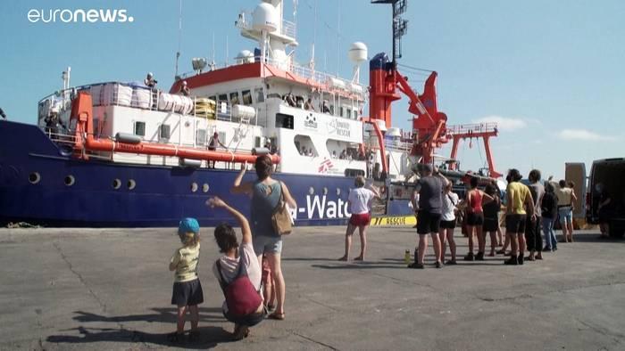 Video: Sea-Watch 4 zu ihrer ersten Mission ausgelaufen