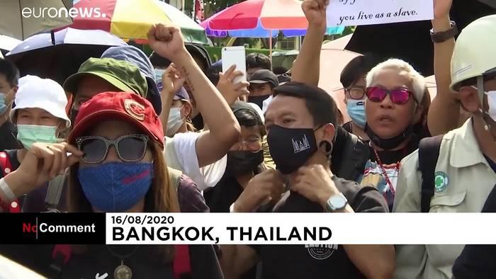 News video: Proteste in Bangkok gegen thailändische Regierung