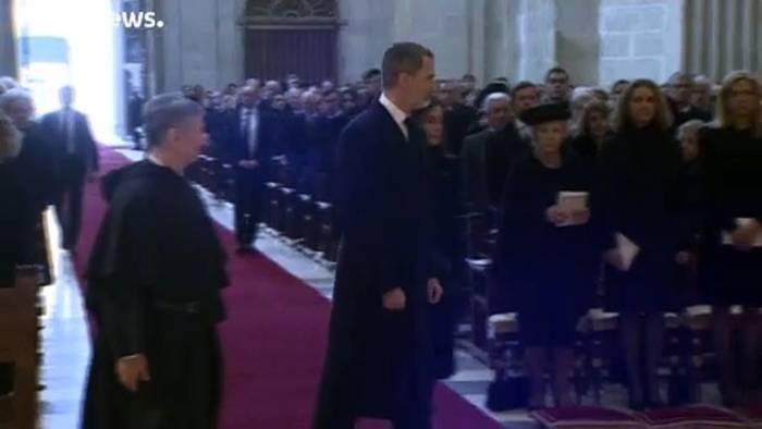 News video: Spanisches Königshaus bestätigt: Juan Carlos in Abu Dhabi