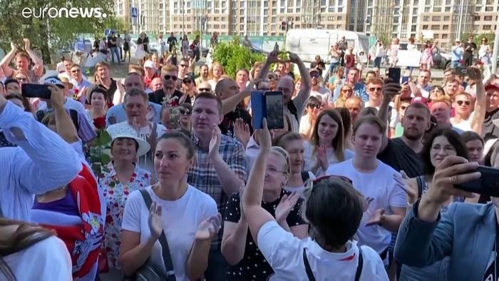 News video: Lukaschenko verspricht Neuwahlen - nach einer Verfassungsänderung