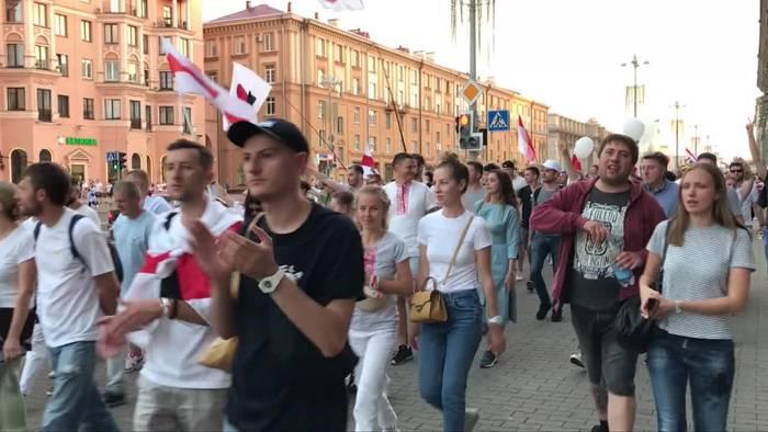 News video: Belarus: Weitere Proteste gegen Lukaschenko geplant