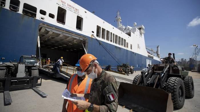 News video: 2. Frachter mit Hilfsgütern in Beirut angelandet - Steigende Covid-19-Zahlen