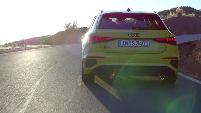 News video: Der Audi S3 Sportback - Kraftvoll - der Antrieb