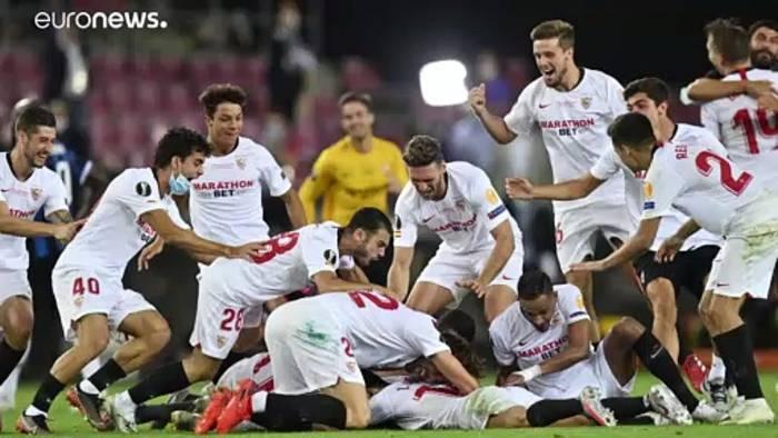 News video: FC Sevilla gewinnt die Europa League