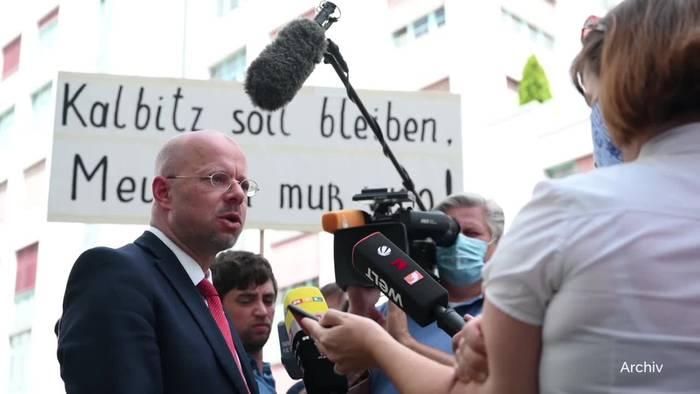 News video: Kalbitz gegen die AfD - Rechtsaußen will in der Partei