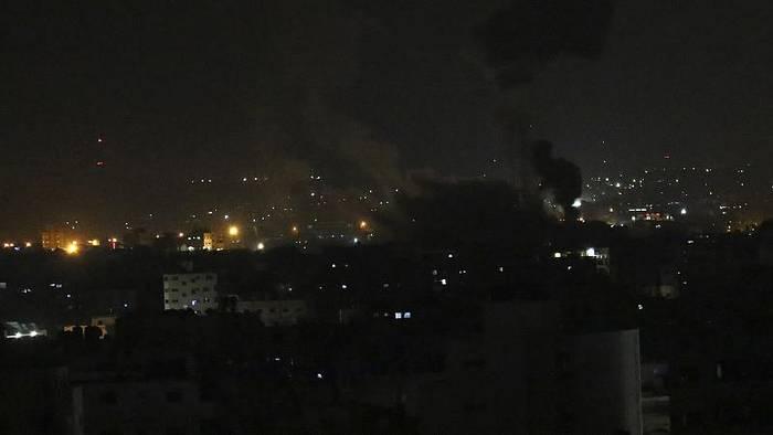 News video: Nach erneuten Attacken aus dem Gazastreifen: Israel beschießt Hamas-Ziele