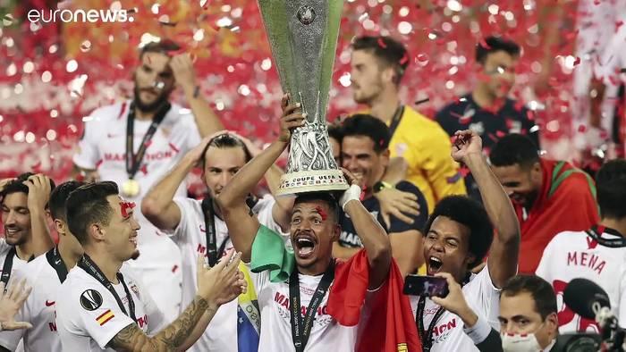News video: Zum 6. Mal: Sevilla siegt beim Europa Cup