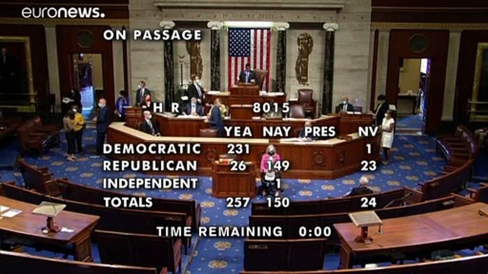 Video: Wie die US-Demokraten die Briefwahl per Gesetz sichern wollen