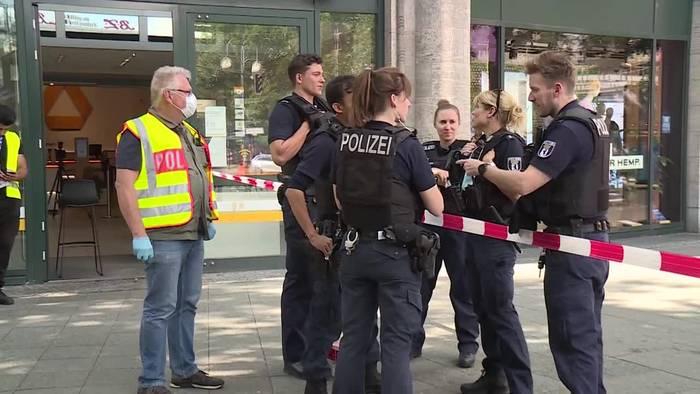 Video: Zwei Banküberfälle an einem Morgen in Berlin