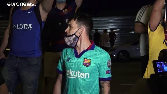 News video: Lionel Messi will weg - Barcelona-Fans sind entsetzt