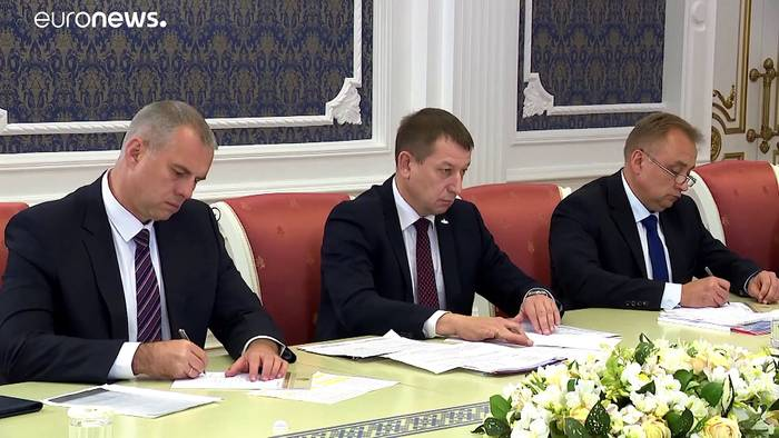 News video: Festnahmen in Minsk - Sondersitzung der OSZE zur Lage in Belarus