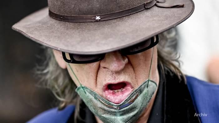 News video: Udo Lindenberg: «Maske auf und da durch»