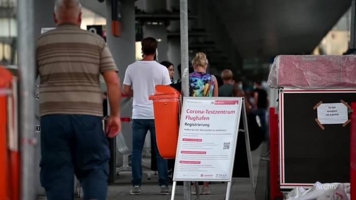 News video: Keine kostenlosen Tests mehr für Rückkehrer aus