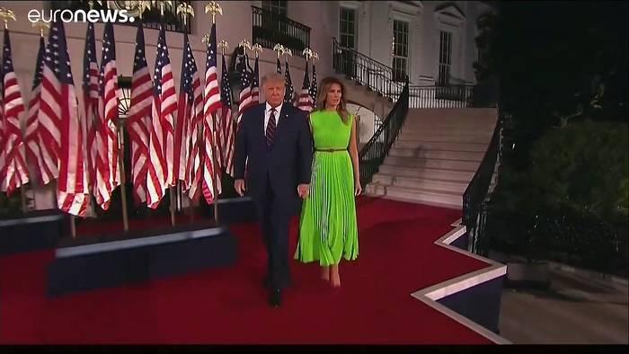 News video: Jetzt amtlich: Trump ist Präsidentschaftskandidat der US-Republikaner