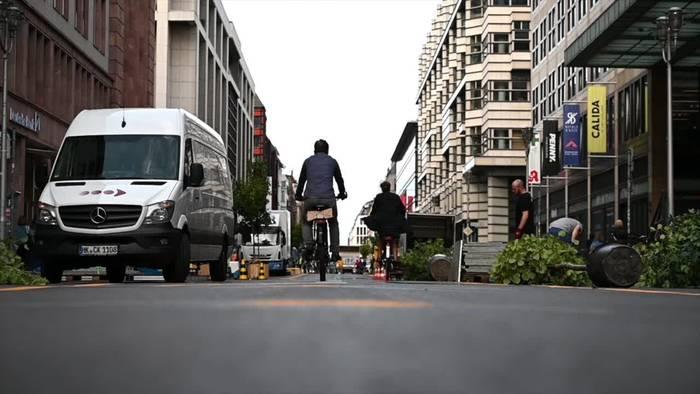 News video: Berliner Friedrichstraße soll ohne Autos wieder aufblühen