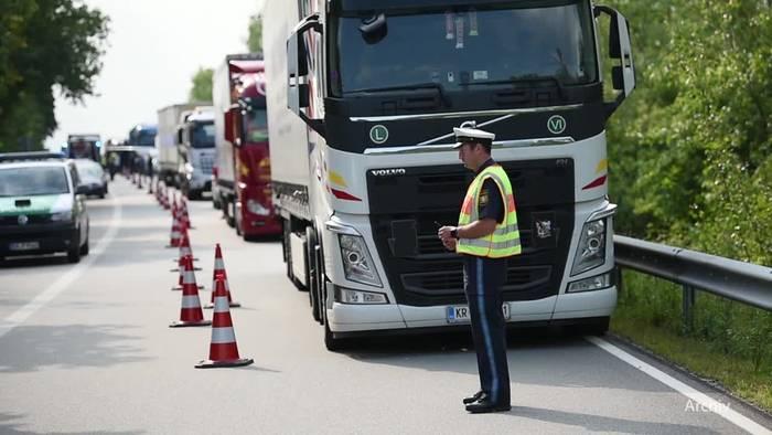 News video: Bayerns Grenzpolizei verstößt in Teilen gegen die Verfassung