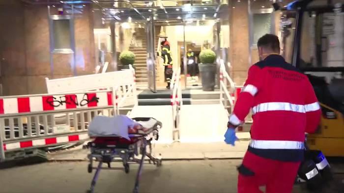 News video: Hamburg: Frau nach Sturz aus Hotelzimmer schwer verletzt