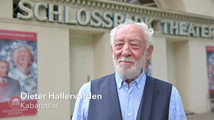 News video: Dieter Hallervorden: Theaterteam regelmäßig testen lassen