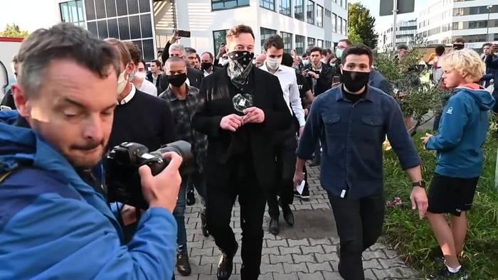 News video: Curevac: Beteiligung war bei Gespräch mit Musk kein Thema
