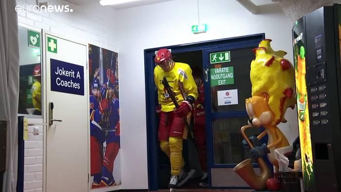 News video: Gewalt in Belarus: Finnische Eishockeymannschaft bleibt weg