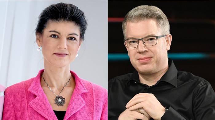 News video: Bei Maischberger: Wagenknecht und Thelen zoffen sich wegen Corona-App