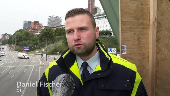 News video: Hamburger Verkehrsbetriebe entschlossen gegen Maskenmuffel