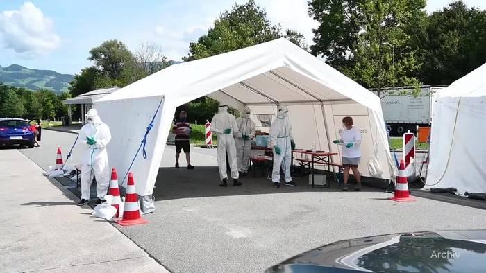 News video: Neuer Ärger an Corona-Testzentren auf Autobahnen in Bayern