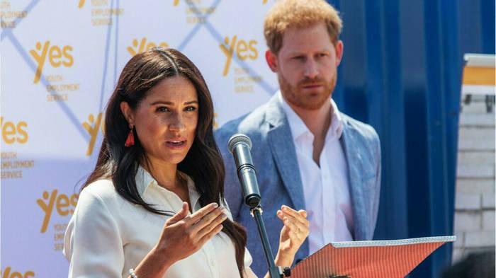 News video: Prinz Harry und Herzogin Meghan sagen
