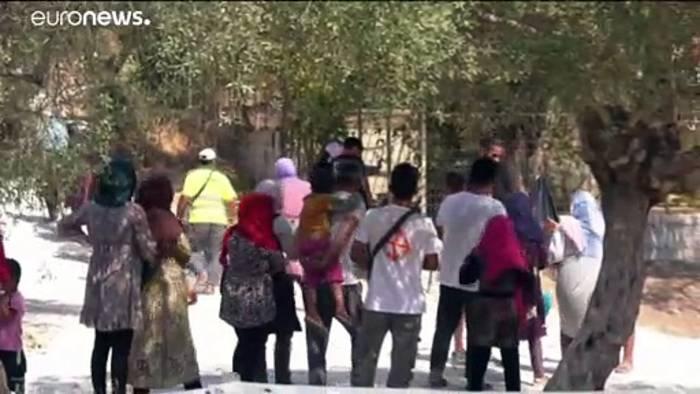 News video: Flüchtlingslager in Moria: