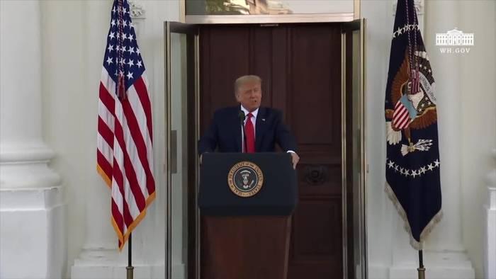 News video: Trump fordert erneut Einstellung von Nord Stream 2