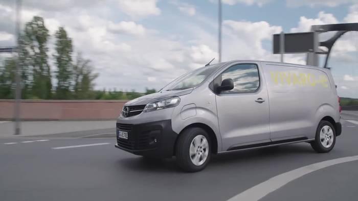 """Video: Die neue Opel Vivaro-e - Mit dem """"e"""" für emissionsfreie Lieferungen"""