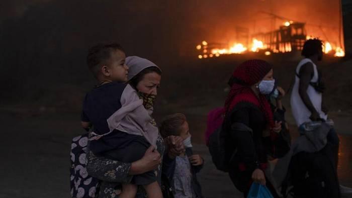 News video: Moria, Lager der Schande, abgebrannt - Euronews am Abend 09.09.