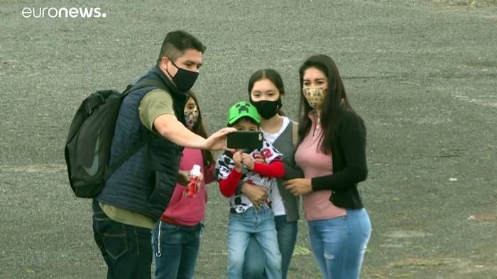 News video: Ruinenstadt Teotihuacán in Mexiko empfängt nach Corona-Pause wieder Besucher