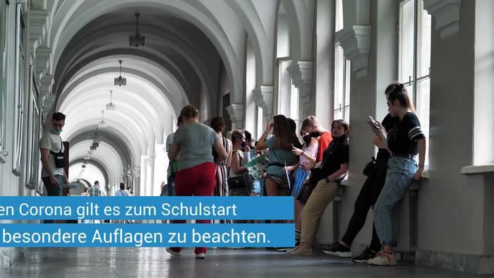 Video: Kurz nach Schulstart in Bayern: Infektionszahlen bei Schülern und Lehrern alarmieren - eine Schule komplett dicht