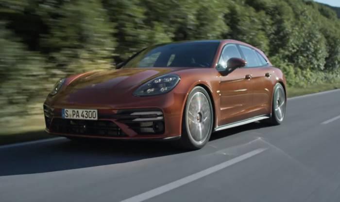 News video: Porsche präsentiert umfangreich überarbeiteten Panamera