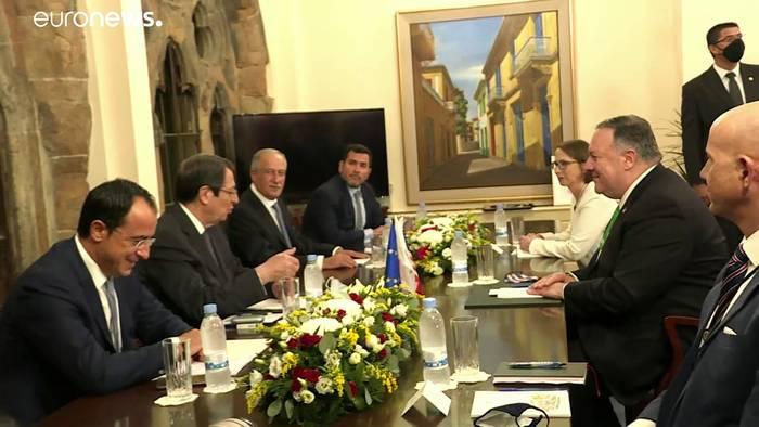 News video: Mittelmeer-Konflikt: Griechenland rüstet auf, Erdogan warnt Macron