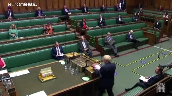 Video: Trotz heftiger Kritik - Johnsons umstrittenes Gesetz im Parlament