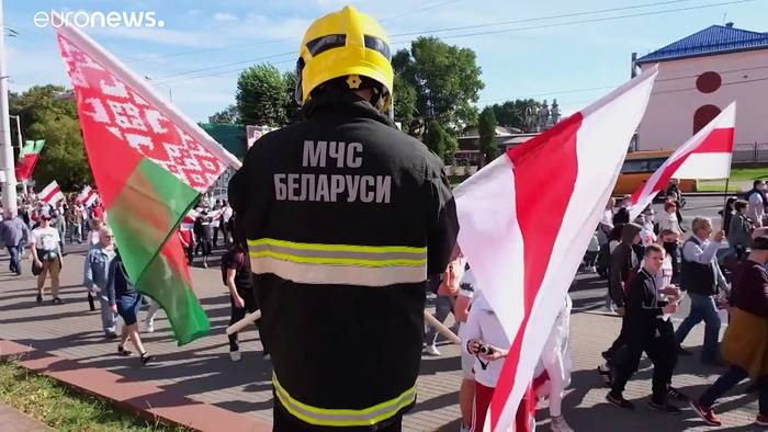 News video: Vor Lukaschenko-Putin-Treffen: Opposition fürchtet Übernahme durch den Kreml