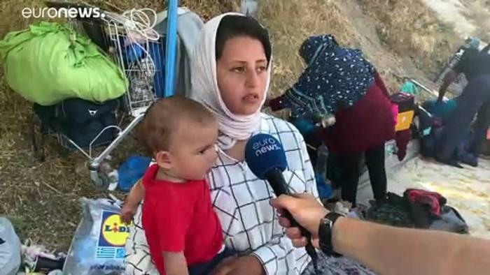 News video: Lesbos: Gibt es eine griechisch-europäische Lösung?