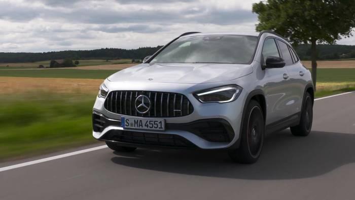 News video: Der neue Mercedes-AMG GLA 45 4MATIC+ - Kompaktes Performance-SUV für alle Lebenslagen