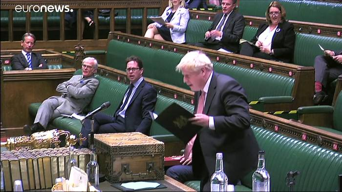 Video: Brexit-Streit in London - Premierminister Boris Johnson unter Druck