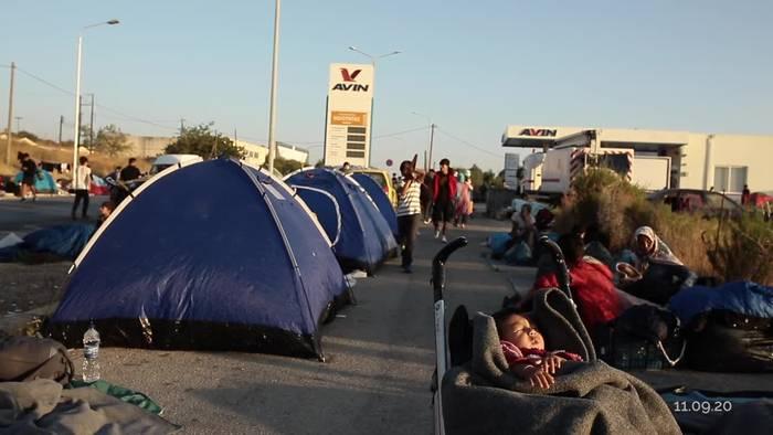 News video: Lesbos: UN-Flüchtlingshilfswerk fordert Lösung von der EU