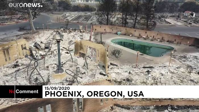 Video: No Comment: Bilder der Zerstörung aus Oregon