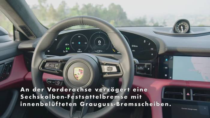 Video: Neuer Porsche Taycan 4S - Interieur Design