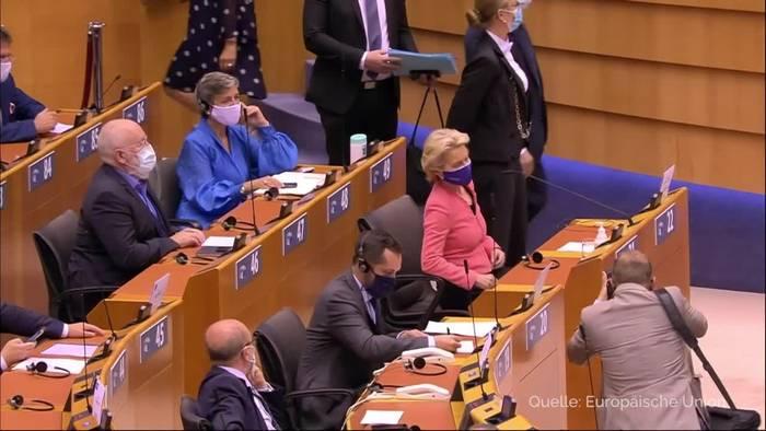 Video: Von der Leyen für neues EU-Klimaziel 2030