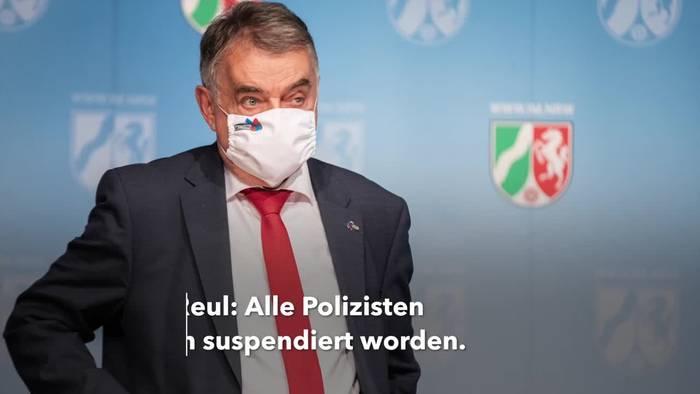 News video: Rechtsextreme Chatgruppen: 29 Polizisten unter Verdacht