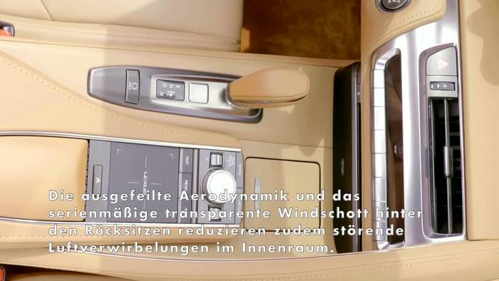 News video: Neues Lexus LC Cabriolet - Interieur Design