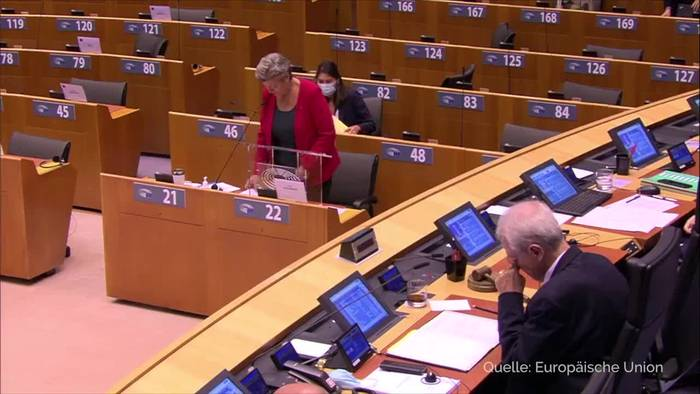 News video: EU-Parlament debattiert nach Moria-Brand über Asylpolitik